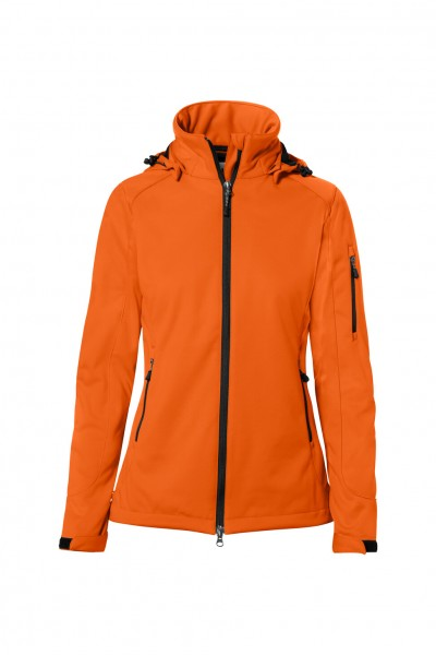 Damen Softshelljacke Alberta 248 Orange