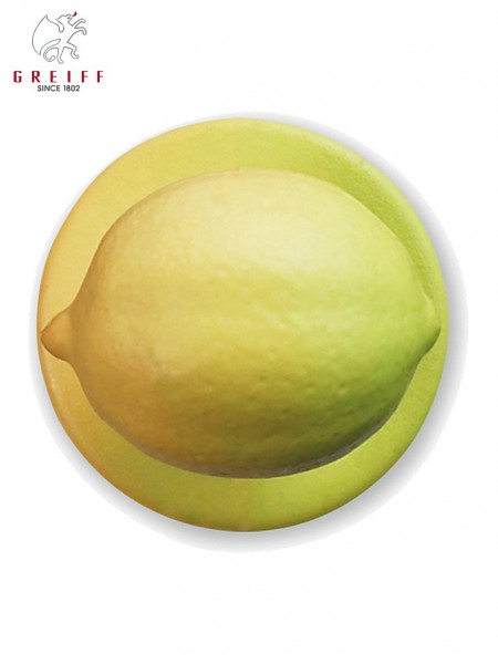 Kugelknopf Zitrone