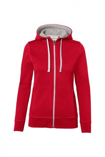 Damen Kapuzenjacke 255 Rot