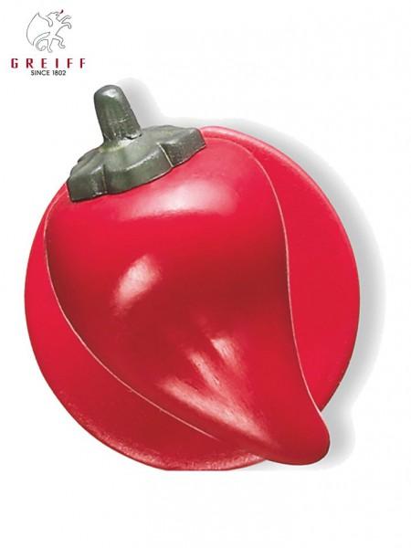 Kugelknoepfe Paprika rot