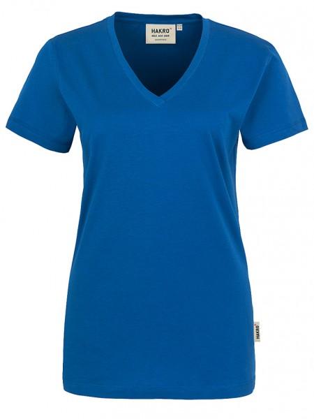 Damen V-Shirt Classic 126 Royalblau