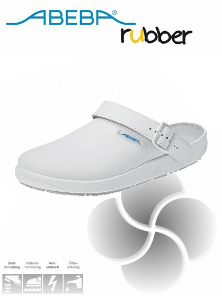 Abeba Rubber Damen-Herren-Clog