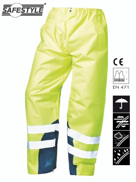 Warnschutz-Regenbundhosen RENZ
